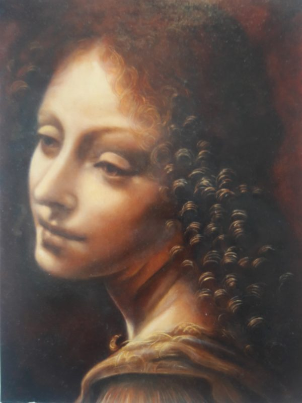 Mastercopy of Leonardo Da Vinci Angel