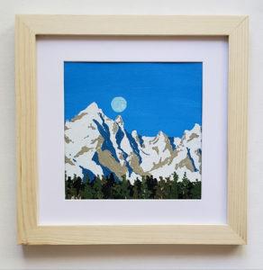 Grand Teton Original Painting