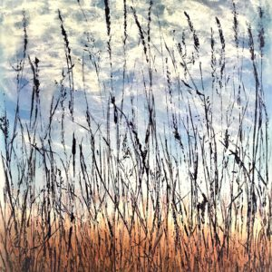 Alley Grass ©Linda Snouffer, Botanical Printmaker