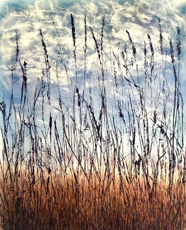 Alley Grass ©Linda Snouffer, Botanical Printmaker