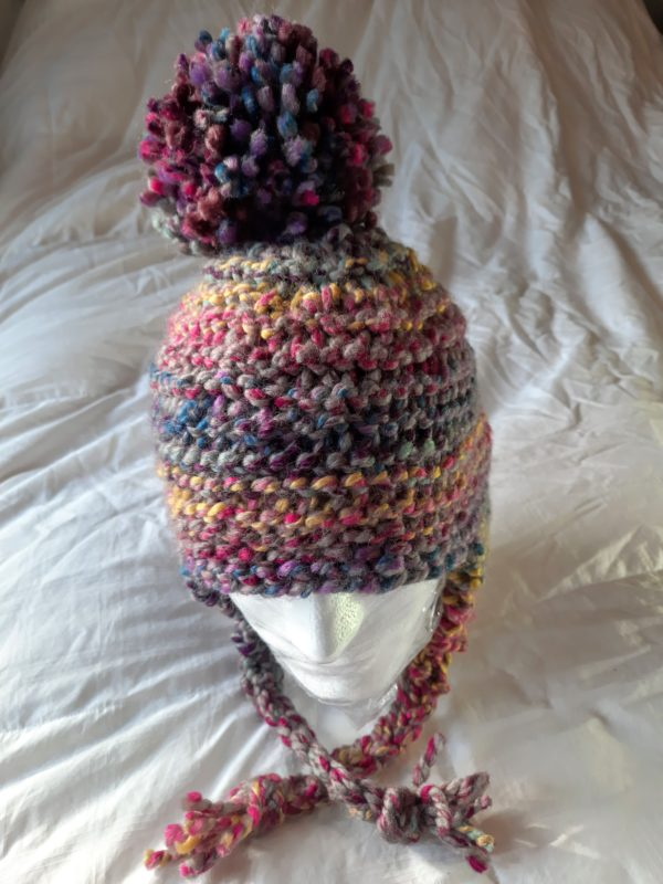 Chalet multi-colored hat