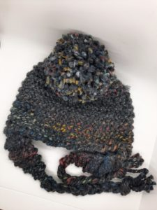 Charcoal sparkling rainbow2 hat