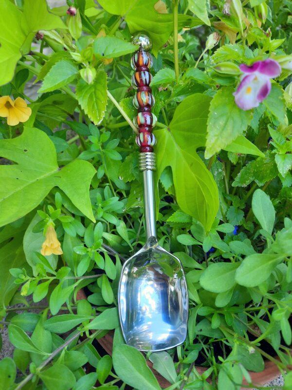 Sangria stripes serving spoon