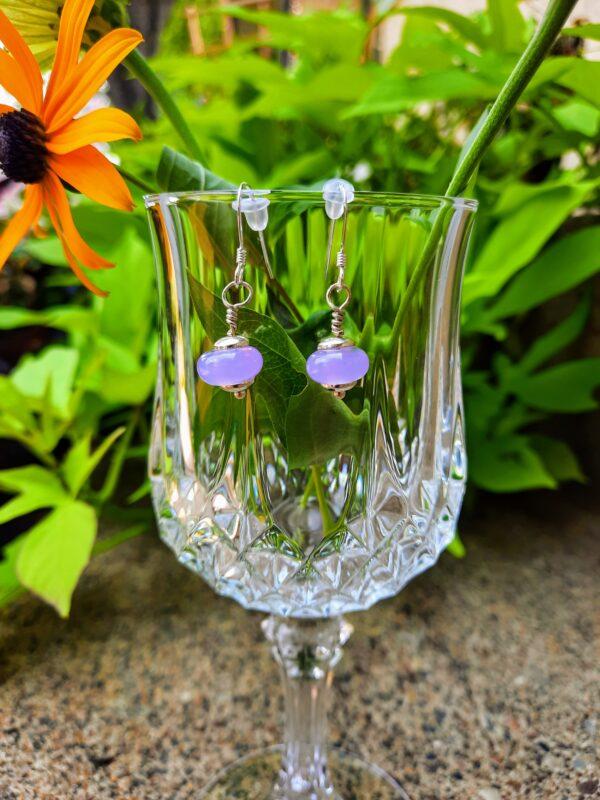 Crocus - dangle earrings