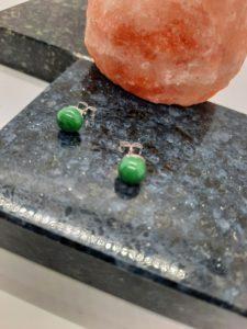 Forest-Dark Green post earrings