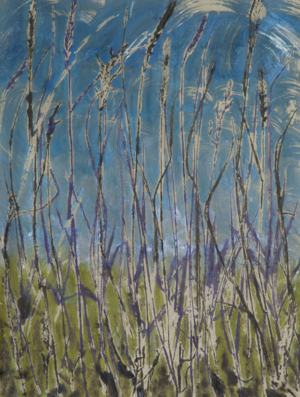 Into the Blue ©Linda Snouffer, Botanical Printmaker    Lindasnouffer.com