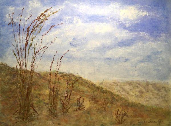 Red Hills ©Linda Snouffer, Botanical Printmaker