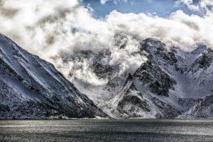 Cruising in Fjord in Norway