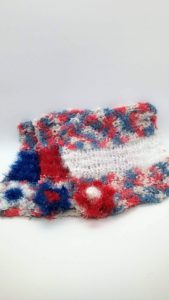 Nautical with red, blue and white dishcloths-multi