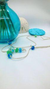 PAG beach on hemp necklace