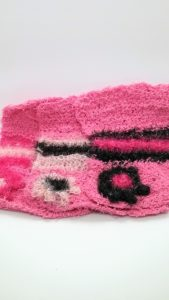 Pink with black and pinks dishcloths-solid