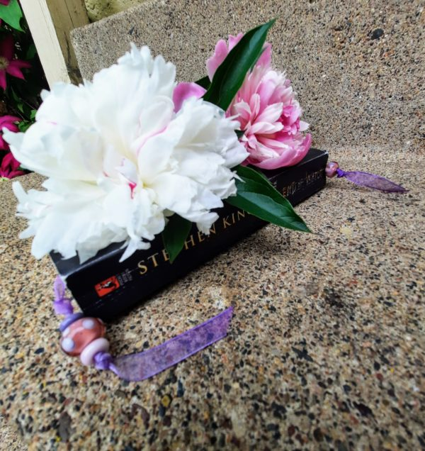 Pink, Purple and Purple Bookmark