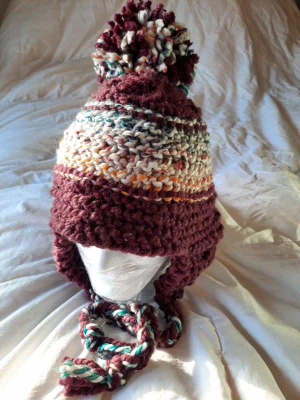 Raisin Multi Stripe Hat