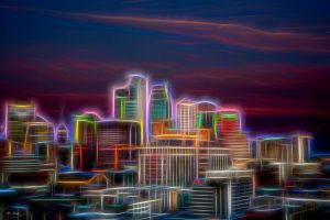 Stylized Downtown Color