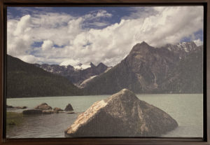 Identify Prayer Rock in Sacred Lake