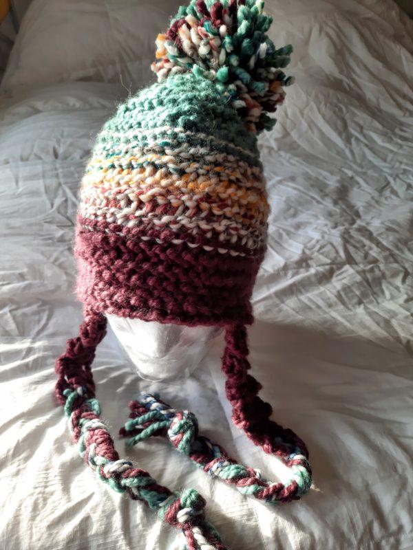 Sea Raisin Multi Stripe Hat
