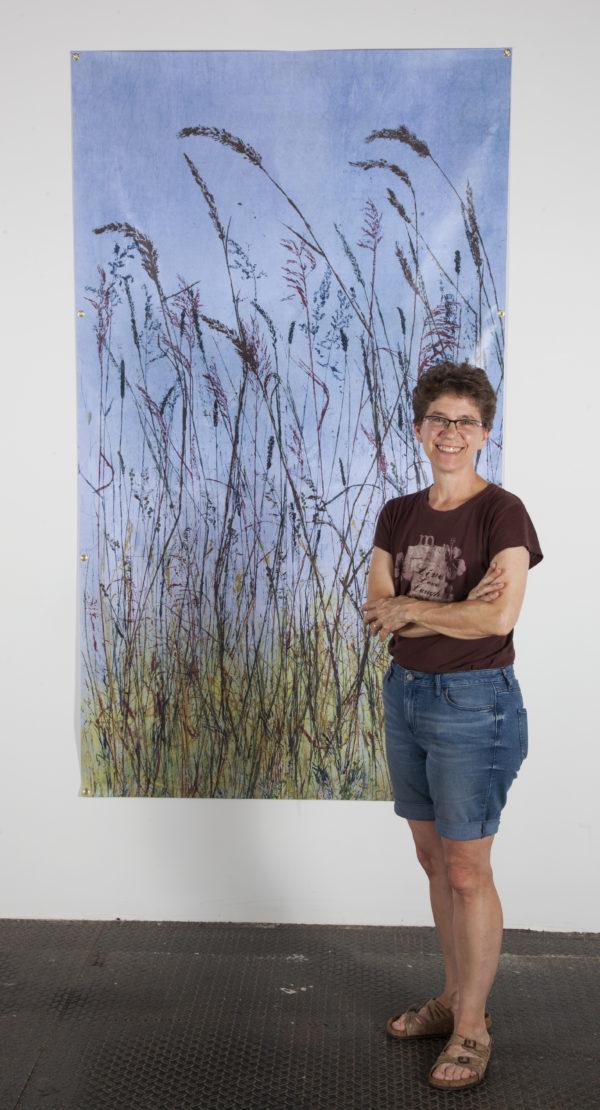 Urban Prairie ©Linda Snouffer, Botanical Printmaker    Lindasnouffer.com
