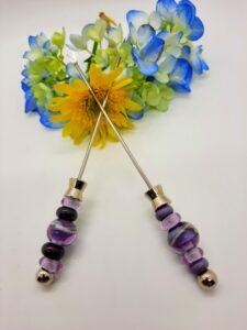 Violet, lavender and purple - appy forks