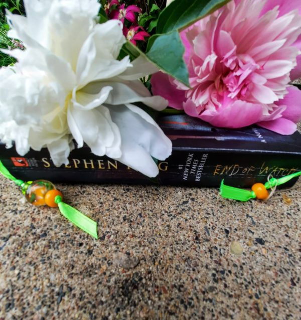 Yellow Lime Bookmark