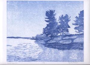 Kabetogama woodcut