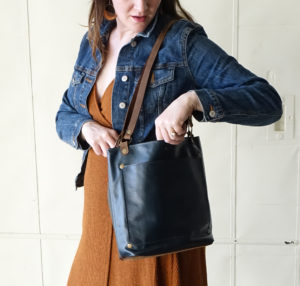 Julie Meyer Leather Goods tote bag